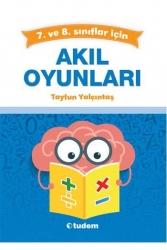 Tudem Yayınları - Tudem Yayınları 7 ve 8. Sınıf Akıl Oyunları
