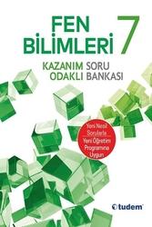 Tudem Yayınları - Tudem Yayınları 7.sınıf Fen Bilimleri Kazanım Odaklı Soru Bankası
