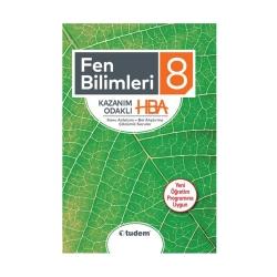 Tudem Yayınları - Tudem Yayınları 8. Sınıf Fen Bilimleri Kazanım Odaklı HBA
