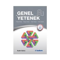 Tudem Yayınları - Tudem Yayınları 8. Sınıf Genel Yetenek Kitabı
