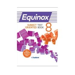 Tudem Yayınları - Tudem Yayınları 8. Sınıf İngilizce Equinox Subject Oriented Test Book