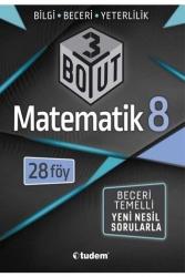 Tudem Yayınları - Tudem Yayınları 8. Sınıf Matematik 3 Boyut 28'li Föy