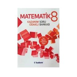 Tudem Yayınları - Tudem Yayınları 8. Sınıf Matematik Kazanım Odaklı Soru Bankası