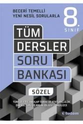 Tudem Yayınları - Tudem Yayınları 8. Sınıf Tüm Dersler Sözel Soru Bankası