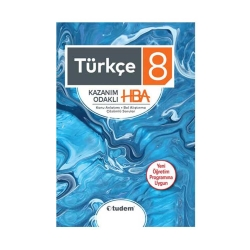 Tudem Yayınları - Tudem Yayınları 8. Sınıf Türkçe Kazanım Odaklı HBA