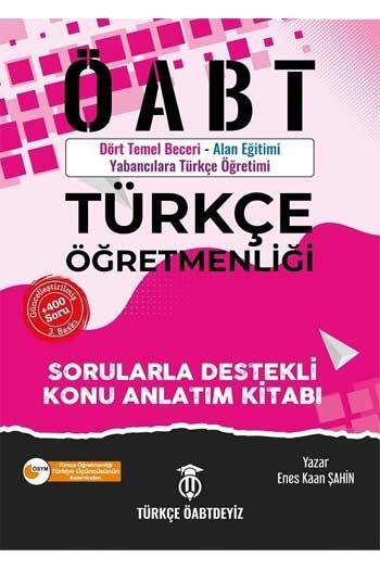 Türkçe ÖABTDEYİZ - Türkçe ÖABTDEYİZ 2021 ÖABT Türkçe Öğretmenliği Konu Anlatımı