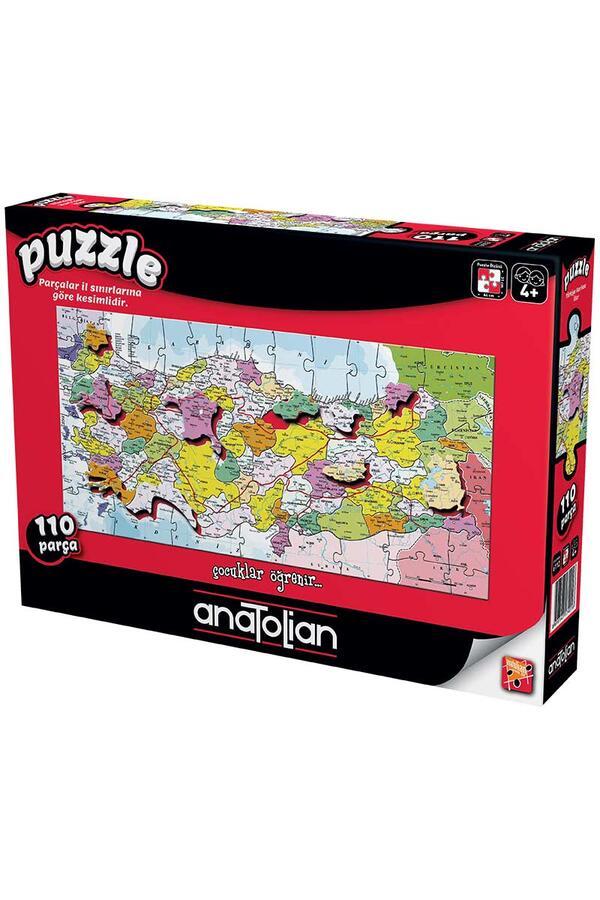 Anatolian - Türkiye Haritası İller / Türkiye Map
