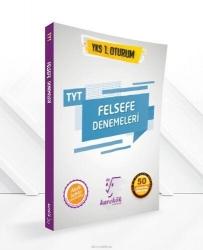 Karekök Yayınları - TYT Felsefe 50 Çözümlü Deneme Karekök Yayınları