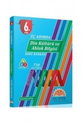 Üç Adım Yayınları - Üç Adım Yayınları 6. Sınıf Din Kültürü Ve Ahlak Bilgisi Üç Adımda Soru Bankası