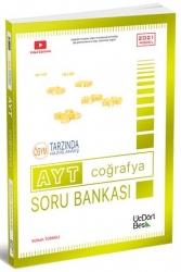 ÜçDörtBeş Yayınları - ÜçDörtBeş Yayınları AYT Coğrafya Soru Bankası