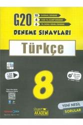 Üçgen Akademi - Üçgen Akademi 8. Sınıf Türkçe 20 li Deneme Sınavı