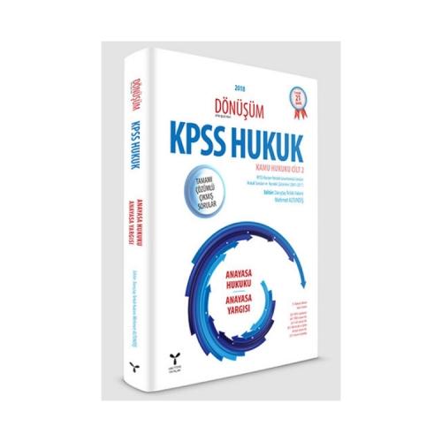 Umuttepe Yayınları Dönüşüm KPSS A Grubu Anayasa Hukuku Tamamı Çözümlü Çıkmış Sorular