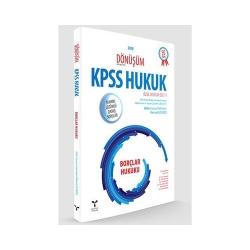 Umuttepe Yayınları - Umuttepe Yayınları Dönüşüm KPSS A Grubu Borçlar Hukuku Tamamı Çözümlü Çıkmış Sorular