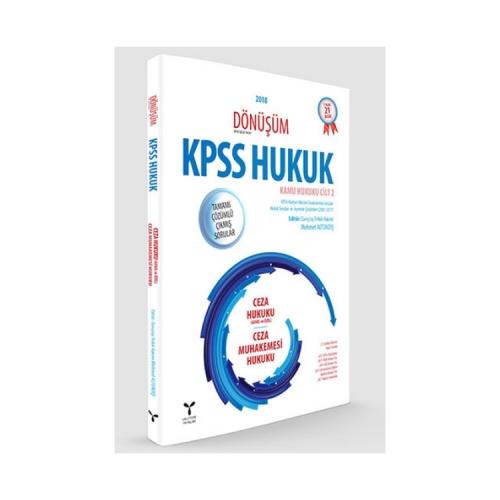 Umuttepe Yayınları Dönüşüm KPSS A Grubu Ceza Hukuku-Ceza Muhakemesi Hukuku Tamamı Çözümlü Çıkmış Sorular