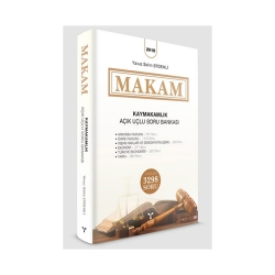Umuttepe Yayınları - Umuttepe Yayınları MAKAM Kaymakamlık Açık Uçlu Soru Bankası