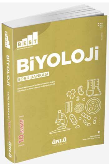 Ünlü Yayıncılık - Ünlü Yayıncılık 10. Sınıf Best Biyoloji Soru Bankası