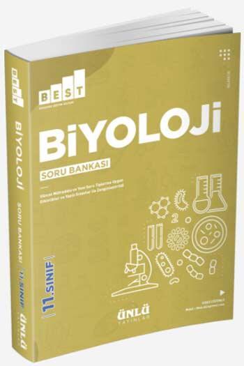Ünlü Yayıncılık - Ünlü Yayıncılık 11. Sınıf Best Biyoloji Soru Bankası
