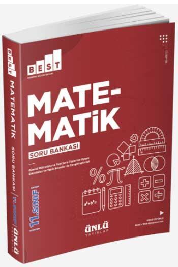 Ünlü Yayıncılık - Ünlü Yayıncılık 11. Sınıf Best Matematik Soru Bankası