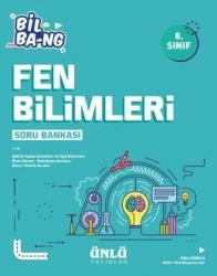 Ünlü Yayıncılık - Ünlü Yayıncılık 8. Sınıf LGS Fen Bilimleri Bil Bang Soru Bankası