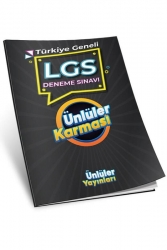 Ünlüler Karması Yayınları - Ünlüler Karması Yayınları Türkiye Geneli LGS Deneme Sınavı