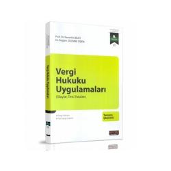 Savaş Yayınevi - Savaş Yayınları Vergi Hukuku Uygulamaları (Olaylar ve Test Soruları) Nurettin Bilici