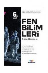 Workwin Yayınları - Workwin Yayınları 6. Sınıf Fen Bilimleri Soru Bankası