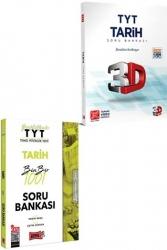 Yargı Yayınları - Yargı + 3D Yayınları 2021 TYT Tarih Kazandıran Soru Seti
