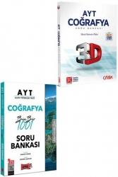 Yargı Yayınları - Yargı + Çözüm Yayınları 2021 AYT Coğrafya Kazandıran Soru Seti