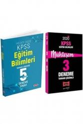Yargı Yayınları - Yargı + Data Yayınları 2020 KPSS Eğitim Bilimleri Muhteşem Çözümlü 5+3 Deneme Seti