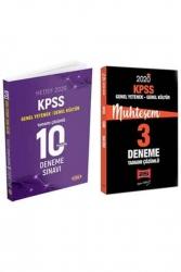 Yargı Yayınları - Yargı + Data Yayınları 2020 KPSS GY-GK Muhteşem Çözümlü 10+3 Deneme Seti