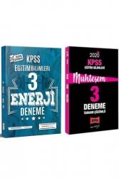 Yargı Yayınları - Yargı + İndeks Kitap 2020 KPSS Eğitim Bilimleri Muhteşem Çözümlü 3+3 Deneme Seti