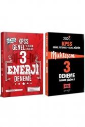 Yargı Yayınları - Yargı + İndeks Kitap 2020 KPSS GY-GK Muhteşem Çözümlü 3+3 Deneme Seti