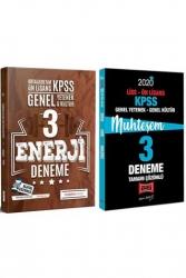 Yargı Yayınları - Yargı + İndeks Kitap 2020 KPSS Lise Ön Lisans GY-GK Muhteşem Çözümlü 3+3 Deneme Seti