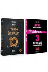 Yargı Yayınları - Yargı + İsem Yayınları 2020 KPSS Eğitim Bilimleri Muhteşem Çözümlü 10+3 Deneme Seti
