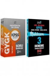 Yargı Yayınları - Yargı + İsem Yayınları 2020 KPSS Lise Ön Lisans GY-GK Muhteşem Çözümlü Soru Deneme Seti