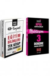 Yargı Yayınları - Yargı + Kariyer Meslek Yayınları 2020 KPSS Eğitim Bilimleri Muhteşem Çözümlü Soru Deneme Seti