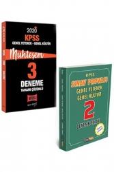 Yargı Yayınları - Yargı + Kariyer Meslek Yayınları 2020 KPSS GY-GK Muhteşem Çözümlü 2+3 Deneme Seti