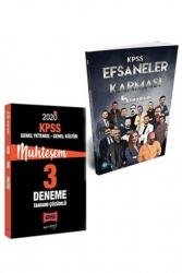 Yargı Yayınları - Yargı + KR Akademi 2020 KPSS GY-GK Muhteşem 5+3 Deneme Seti