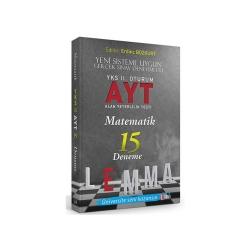 Yargı LEMMA - Yargı LEMMA YKS 2. Oturum AYT Matematik 15 Deneme
