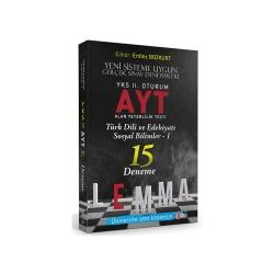 LEMMA Yayınları - Yargı LEMMA YKS 2. Oturum AYT Türk Dili ve Edebiyatı - Sosyal Bilimler-1 15 Deneme