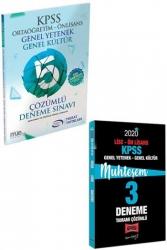 Yargı Yayınları - Yargı + Murat Yayınları 2020 KPSS Lise Ön Lisans GY-GK Muhteşem Çözümlü 5+3 Deneme Seti