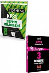 Yargı Yayınları - Yargı + Pelikan Yayınları 2020 KPSS Eğitim Bilimleri Muhteşem Çözümlü 7+3 Deneme Seti