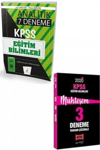 Yargı + Pelikan Yayınları 2020 KPSS Eğitim Bilimleri Muhteşem Çözümlü 7+3 Deneme Seti