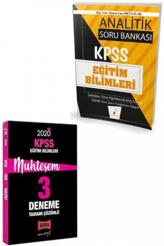Yargı + Pelikan Yayınları 2020 KPSS Eğitim Bilimleri Muhteşem Soru Deneme Seti
