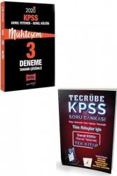 Yargı Yayınları - Yargı + Pelikan Yayınları 2020 KPSS GY-GK Muhteşem Çözümlü Soru Deneme Seti