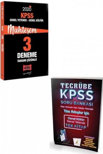 Yargı + Pelikan Yayınları 2020 KPSS GY-GK Muhteşem Çözümlü Soru Deneme Seti