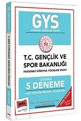 Yargı Yayınları - Yargı Yayınları 2020 GYS T.C. Gençlik ve Spor Bakanlığı Yurt Yönetim Memuru Unvanı İçin Çözümlü 5 Deneme