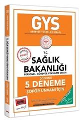 Yargı Yayınları - Yargı Yayınları 2020 GYS T.C. Sağlık Bakanlığı Şoför Unvanı İçin Çözümlü 5 Deneme