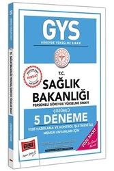 Yargı Yayınları - Yargı Yayınları 2020 GYS T.C. Sağlık Bakanlığı Veri Hazırlama ve Kontrol İşletmeni ile Memur Unvanları İçin Çözümlü 5 Deneme