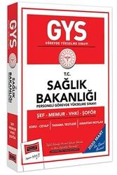 Yargı Yayınları - Yargı Yayınları 2020 GYS T.C.Sağlık Bakanlığı Şef-Memur-VHKİ-Şoför İçin Çalışma Kitabı